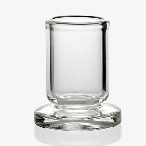 OD 25MM Carb Cap stand Clear Glass holder for 25mm 30mm bubble Carb Caps, Quartz Terp Pearls
