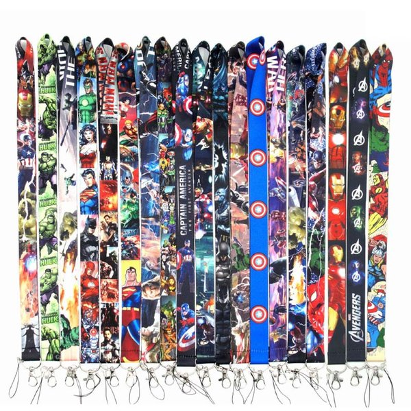 New 29 Styles Lanyard Black/Blue/White 15 Colors Available Strap For All Cell Phones Hot Sale String Neck Strap
