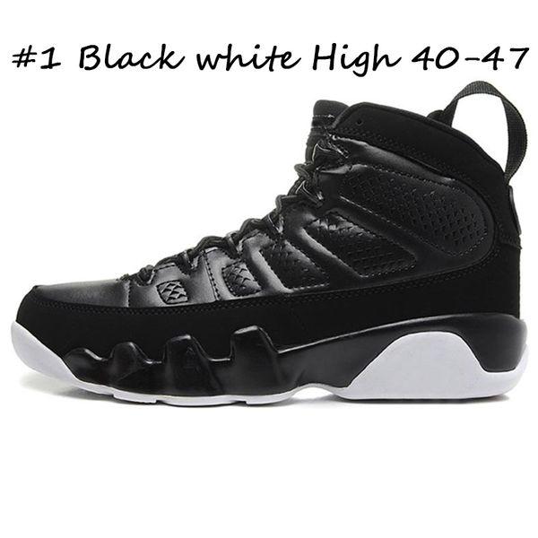 #1 Black white High 40-47