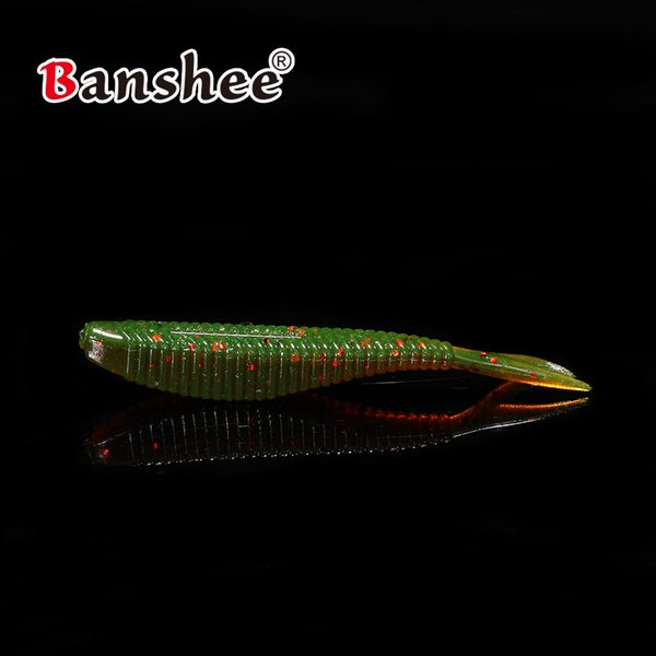 15pcs/package fake lure soft bait for Fishing SHAD60 shad bass wobblers 60mm 1.5g tackle artificial silicon rubber worm shrimp bass/pike