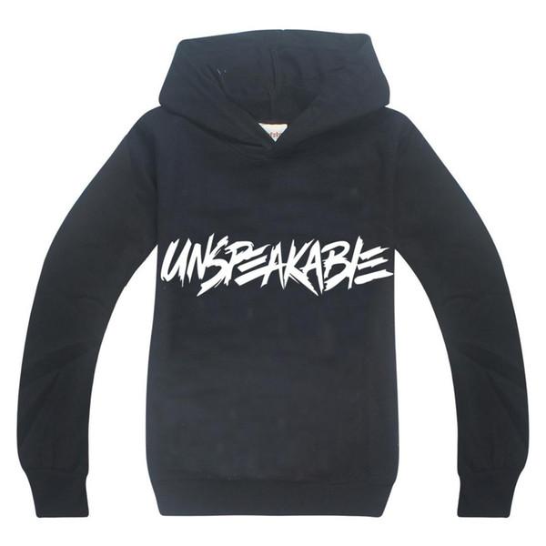 top popular children's hoodies UNSPEAKABLE YOUTUBER LOVERS VLOG boys' long sleeves Sweatshirt boys girls clothes 6-14Y kids clothes girls 2021
