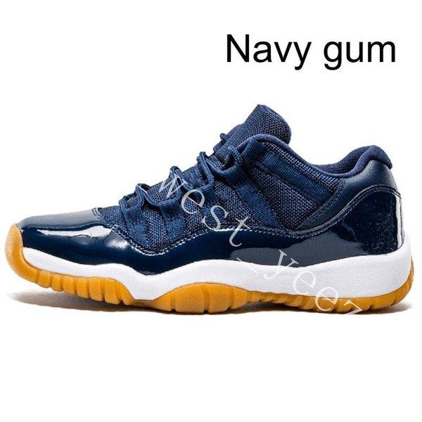 19 Navy gum