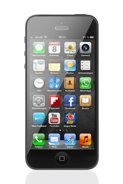Werkseitig entsperrte original iPhone 5 Dual Core 16 GB / 32 GB / 64 GB überholte Smartphone-Unterstützung GSM 8MP Kamera