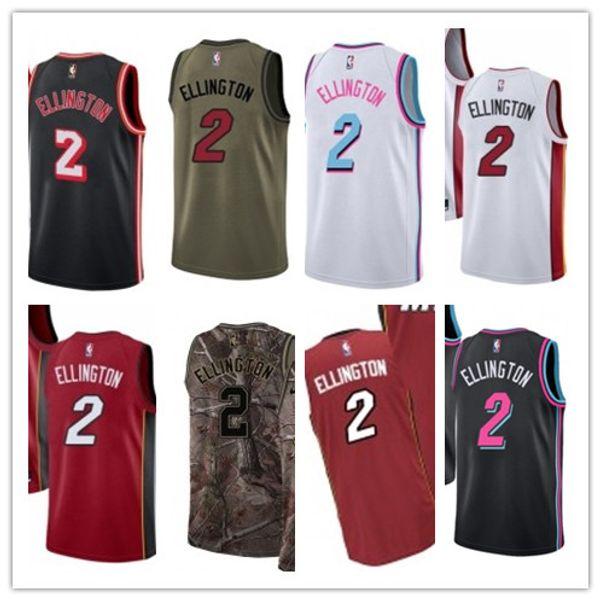 low priced 7b9b5 6ffef 2019 2019 Custom Miami Men/WOMEN/Youth Heat Jersey 2 Wayne Ellington  Basketball Jerseys Free Ship Size S Xxl Message Name Number From Lzytop002,  ...