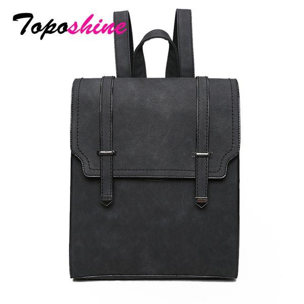 Toposhine 2018 Hot New Bag Designed Brand Cool Urban Backpack Double Arrows Women Backpack Quality Fashion Girls School BagMX190823
