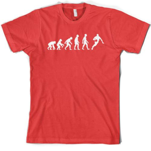 Evolution of Man Basketball T-Shirt- Gift / Jersey / Clothing - 10 Colours Funny free shipping Unisex Casual
