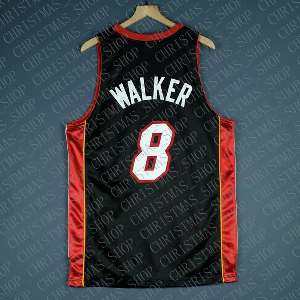 100% genähtes Antoine Walker 2006 Finals Jersey Großhandel Jersey Herren Weste Größe XS-6XL Genähte Basketball Trikots Ncaa