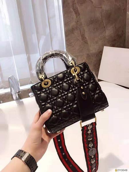 8 color 2019 top version women designer crossbody bag genuine leather Boston shoulder bags,2018 Brand Fashion Luxury Designer Bags,20*17*9cm