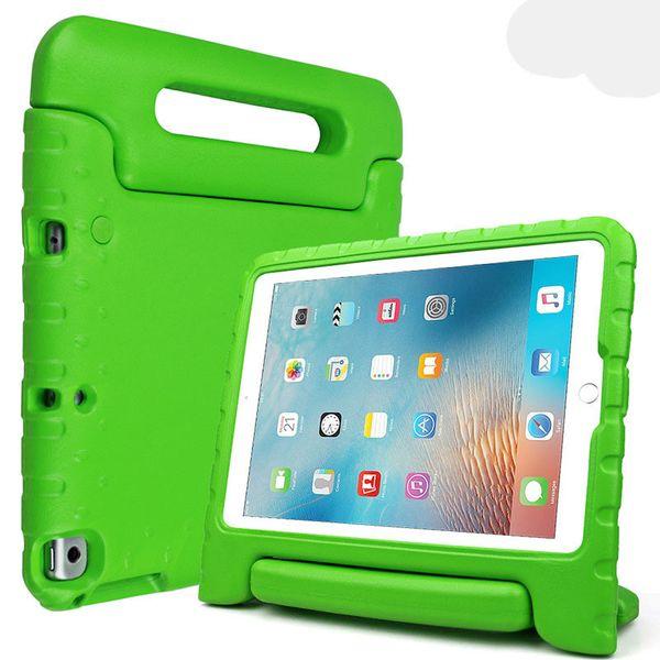 Taşınabilir Çocuklar Güvenli Köpük Şok Proof EVA Kolu Kapak Standı Kılıf için iPad mini 2/3/4 Hava 5 6 Pro PCC081