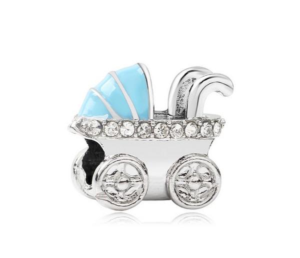 Fit Sterling Silver Bracelet Charms 20pcs Landau Grand Trou Perles Fit Charme Européen Biagi Bracelets Bijoux DIY Femmes Cadeaux Conclusions