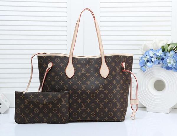 2019 NEW ladies handbag classic high quality PU leather shoulder bag messenger bag handbagLouisVuittonwoman bag
