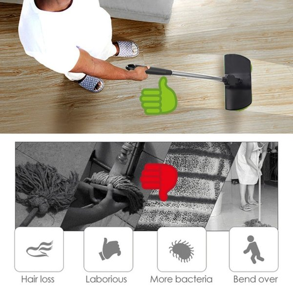 Cordless Rotary Electric Mop Rechargeable Floor Cleaner Clean Scrubber Polishe