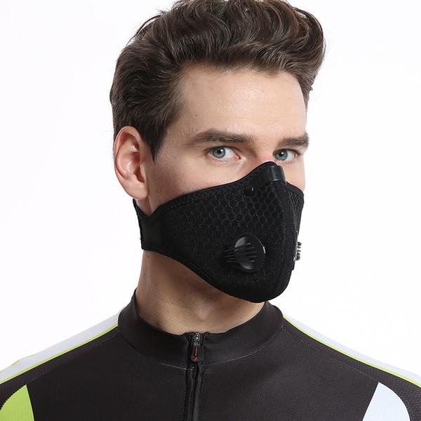 2018 XINTOWN Radsport-Gesichtsmaske mit Kohlefilter staubdicht und schadstofffreie Masken für Outdoor-Sportler