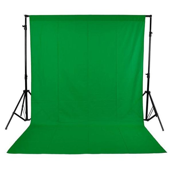 1.6 * 3M / 5 * 10FT Photographie Décors Non-tissé Studio Photo Fond Écran Vert fotografia Noir Blanc Vert pour Option