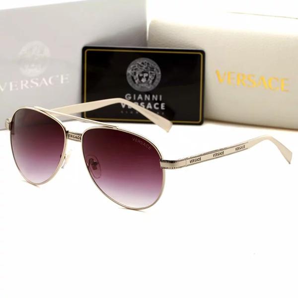 New 2019 style popular brand sunglasses 2209 women sun glasses plate optical frame summer outdoor uv protection fashion eyewear