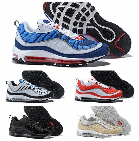 low priced b4e20 347e0 2018 New Max 98 Gundam Running Shoes For Men Joint Limited Sneakers Sports  Orange 98s Gundams Designer Shoe Air Zapatillas Leather Shoes Dress Shoes  ...