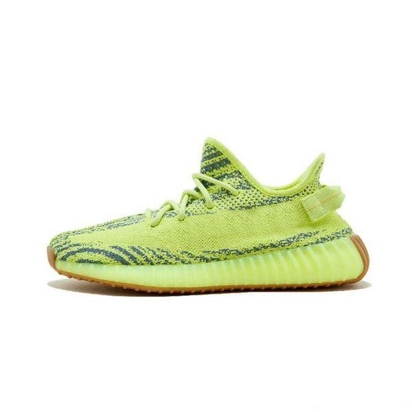 Großhandel Adidas Yeezy 350 V2 Off White Boost Sneakers 2019 Mode Luxus Herren Designer Einlegesohle Frauen Schuhe Plattform Sandalen Turnschuhe 35C