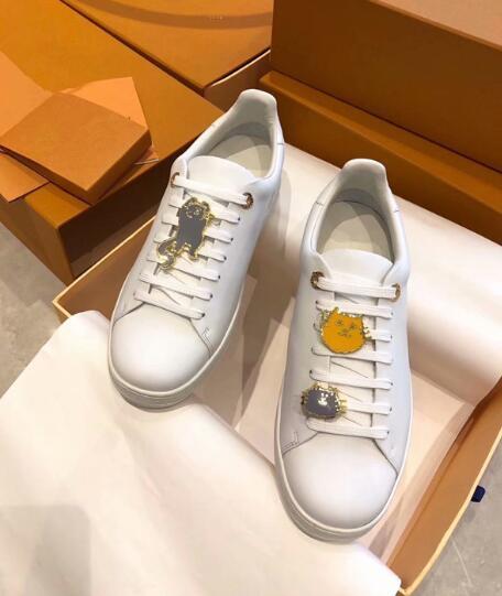 Nuovo arrivo scarpe sneakers in pelle Rivoli moda scarpe basse in pelle moda 2019 Mens scarpe di tendenza di lusso classiche di design w 81