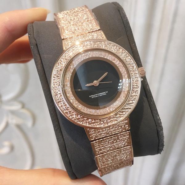 2019 nizza neue top verkaufen hochwertige luxus rinestones frauen uhr diamant mode dame kleid uhr großhandel kristall weiblich casual uhr