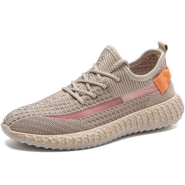 Le scarpe sportive da uomo da donna 2019 sport scarpe da ginnastica riflettenti in pizzo riflettente nero antiriflesso, scarpe sportive di design a bagliore di argilla