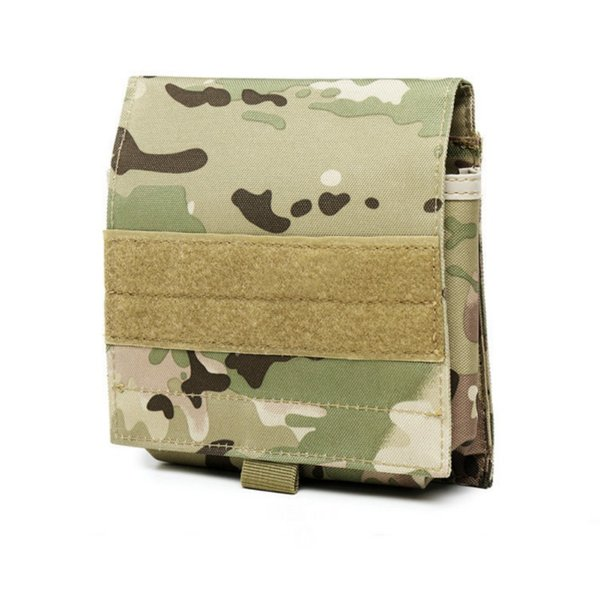 Tactical MOLLE Mobile Phone Pouch Belt Bag Outdoor Camping Hiking Waist Pouch Pack Holster Cell Phone Cover Sportswear