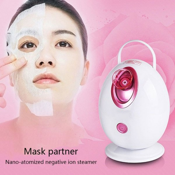 Egg Type Hot Spray Steamer Mini Nano Home Spray Instrument Humidifier Beauty Instrument Ion Water Meter Steaming Machine SH190727