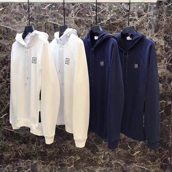 lüks ceket aşağı rüzgarlık kapşonlu kazak erkek severler Yeni lüks marka Erkek Sonbahar kış yeni Hoodie Gevşek Kazak Uzun Kol 14