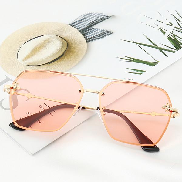 Gucci 0113 calidad Lente de cristal Bisagra de metal Diseñador de la marca Marco de moda Hombres Mujeres Gafas de sol Sport Vintage Gafas de sol