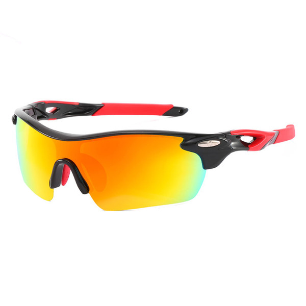 1pcs l'estate più nuovi uomini e donne moda occhiali da sole antivento occhiali sportivi uomini e donne in bicicletta all'aperto occhiali da sole a cavallo 4colros