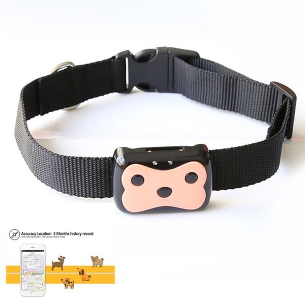 Intelligente impermeabile MiNi GPS Pet Tracking Collar Tracking Tracker Collare per cane Cat GPS LBS Posizionamento del dispositivo Geo-Fence Track