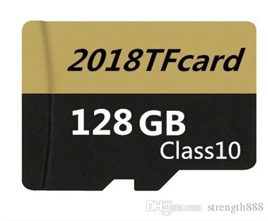 Carte mémoire haute vitesse à capacité réelle, micro-carte 64 Go Micro SD 16 Go ~ 128 Go Flash TF