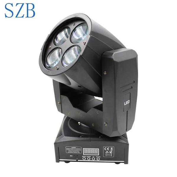 SZB 4 * 10W mini conduit lumière principale mobile de faisceau principal mobile de faisceau de LED pour l'effet de barre a mené l'éclairage d'étape / SZB-MH0410A