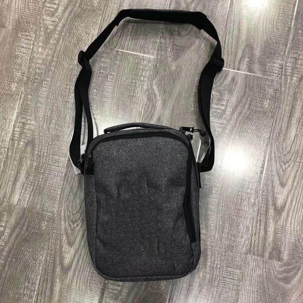 Nueva moda cruzada bolsa de cuerpo con letra impresa hombres mujeres Messenger Bags unisex hombro bolsa de mano cremallera nueva marea