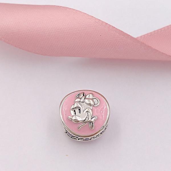 Auténticos granos de plata esterlina 925 Vintage Mini Charm Charms Se adapta a las pulseras de joyería de estilo europeo Collar
