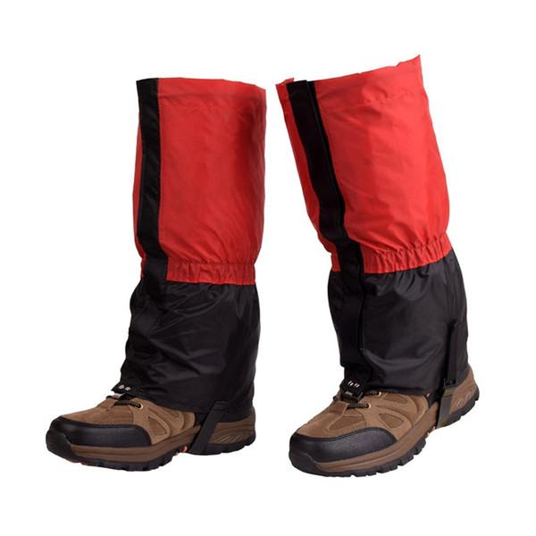 Açık Su Geçirmez Bisiklet Ayakkabı Kapağı Erkek Kadın Çocuk Kayak Botları Kar Çorapları Yürüyüş Trekking Tırmanma Kayak Bacak Legging Çorapları # 232290
