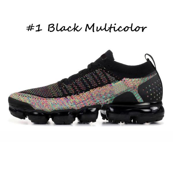 #1 Черный Многоцветный 36-45