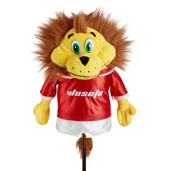 golf clubs driver headcover Dustproof Golf Club Head Cover Cartoon Animal Headcover Toy For fans