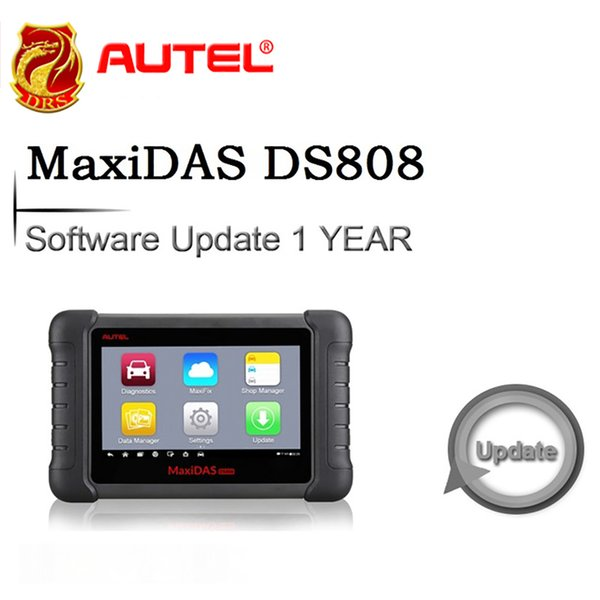 Software 1 Year Update for Autel MaxiDAS DS808 OBDII Automotive Diagnostic Tool Scanner