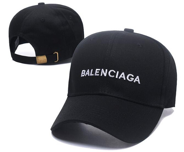 2019 new fashion BNIB hat cap Wave cola logo 17FW Homme Ladies Mens Unisex Red Baseball caps strapback black embroidery casquette bone hat