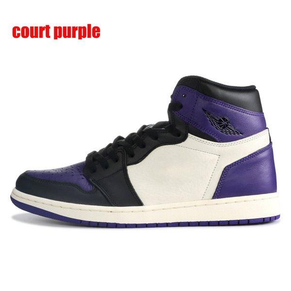 court purple with black symbol