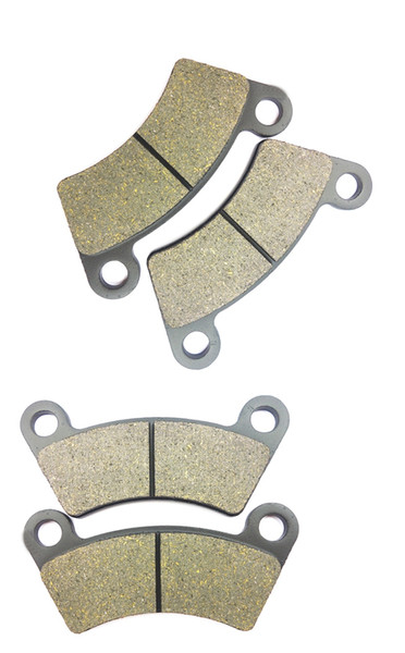 Rear MXU500 Front Rear Quad Left/&Right Brake Pads Set for KYMCO MXU 500 IRS 2009-2010 Front