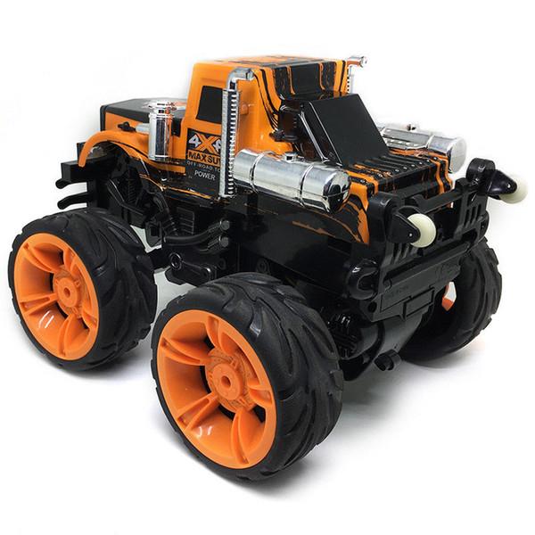 Rc auto 4wd 1/10 RC Stunt Car 360 gradi di rotazione invertita 15 km / h RTF ad alta velocità di controllo remoto auto