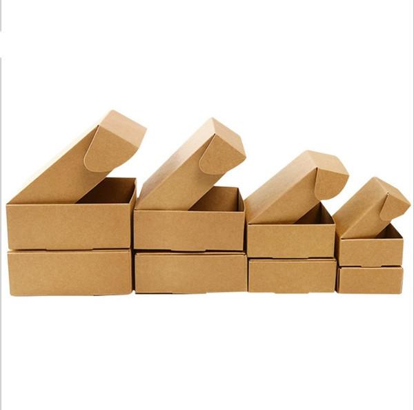 50 adet-5.5 * 5.5 * 2.5 cm mini boyutu kağıt kutuları takı kutusu için DIY kutusu el yapımı sabun şeker parti hediye