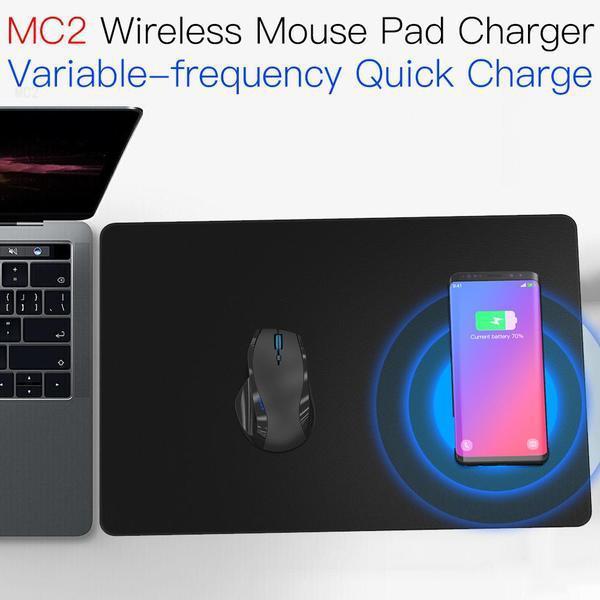 JAKCOM MC2 Wireless Mouse Pad caricatore Vendita calda in Mouse Pad poggiapolsi come il mio projetores 2018 intelligente orologio cinturino ritmo