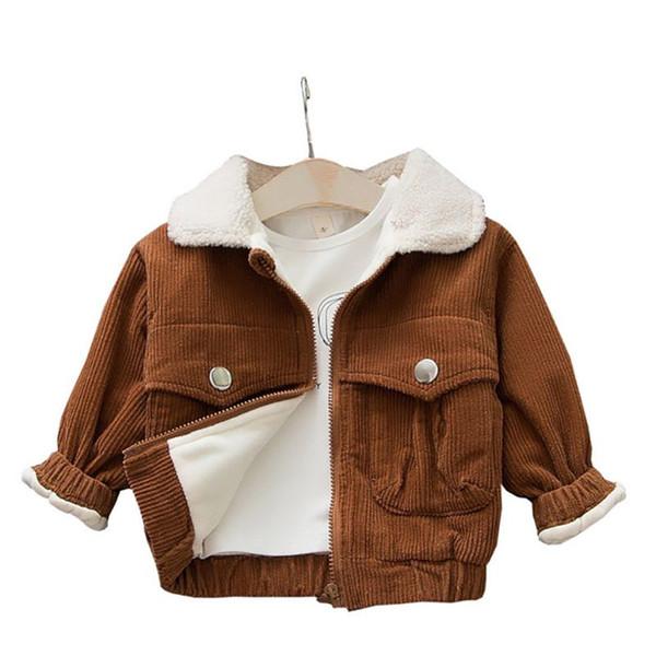 Kid Clothes Baby Girl Coat Winter Warm Plus Cotton Thicken Children Girl Jacket Newly
