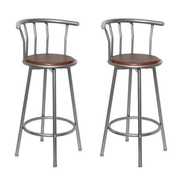 Sensational 2019 2 Pecs Bar Stool Steel Brown Mdf Swivel Seat Pub High Chairs Barstools From Dhmakepossible 60 73 Dhgate Com Pabps2019 Chair Design Images Pabps2019Com