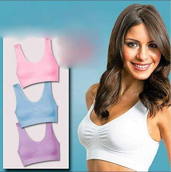 New GENIE BRA Classic Various Colors With Removable Pads US Seller As Seen On