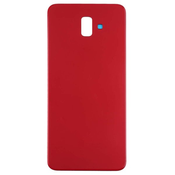 10Pcs New Back Battery Cover Glass Door For Samsung Galaxy J6 Plus J6+ J610 J610F J610F-DS Rear Housing Case