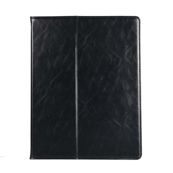 Classic Half Genuine Leather Tablet Case For ipad pro 12.9 With Built-in Pen Slot stand Shockproof Dormancy Shell Case