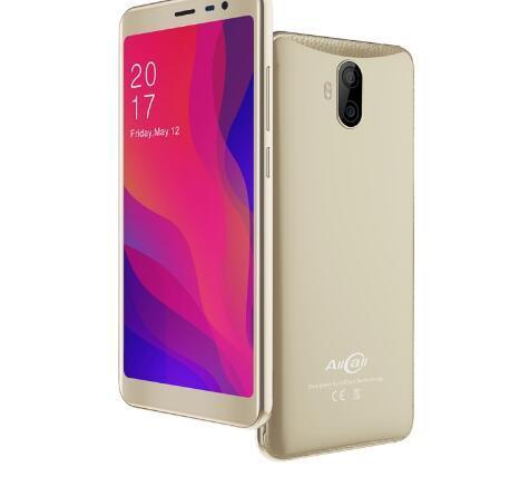 "AllCall Rio X 5.5""HD18:9 Mobile Phone 1GB RAM 8GB ROM Android 8.1 MTK6580M Quad Core Dual Cameras 13MP+5MP 2850mAh 3G Smartphone"